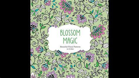 flip  blossom magic coloring book youtube
