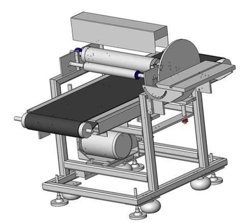 drumdisc sander  sander design  complete