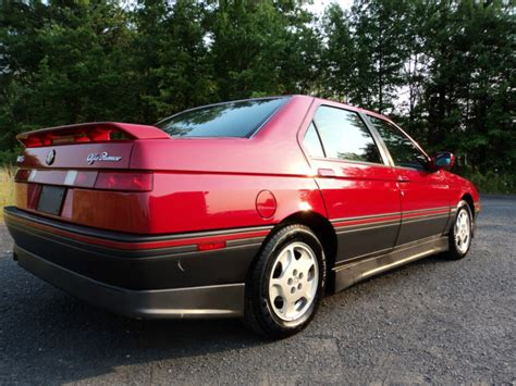 1991 Alfa Romeo 164s Style, Pace And Grace  Totally That