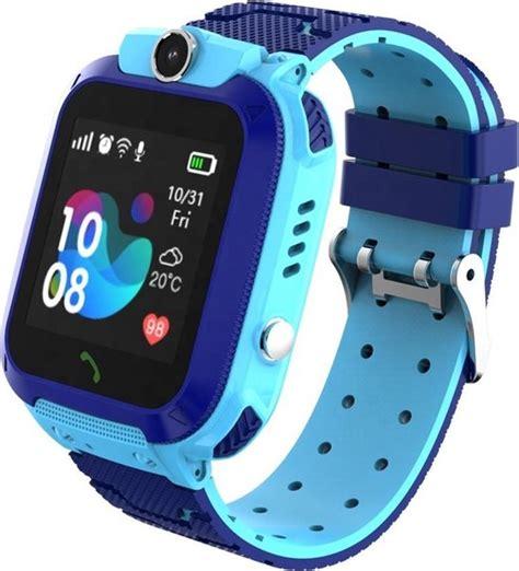 bolcom exilien kinder horloge smartwatch  size blauw