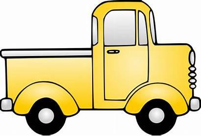 Truck Pickup Clipart Outline Clip Antique Powerpoint