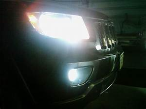 Jeep grand cherokee led fog lamps driving
