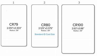 Card Standard Sizes Dimensions Inches Printer Cards