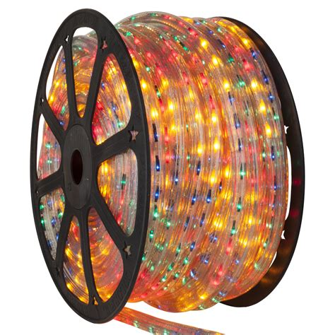 rope light  multicolor chasing rope light commercial