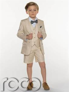 Boys Suits Boys Linen Suits Page Boy Outfits Boys Formal Suits with Shorts | eBay