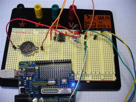 Arduino Real Time Clock Shield Use For Projects