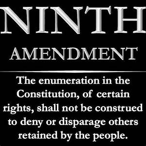Constitution's Ninth Amendment: Protecting Unenumerated ...