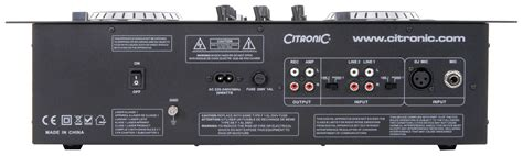 Citronic Cdmx1 Mk2 Twin Cd Mixer £299  Citronic Main