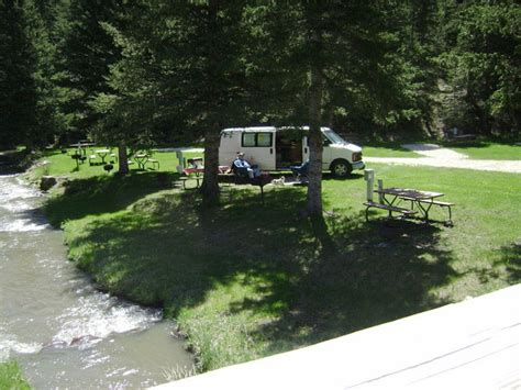 fish  fry campground  cafe deadwood