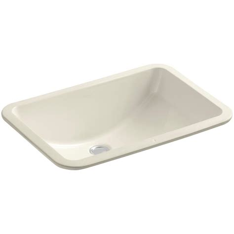 Ladena Sink Home Depot by Kohler Caxton Vitreous China Undermount Bathroom Sink In
