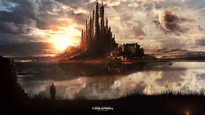 History Future Sci Fi Background Wallpapers Wall