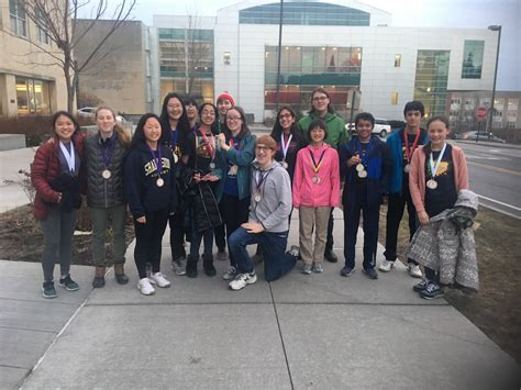 Middle School Science Olympiad Team Finishes Second At Cornell Invitational