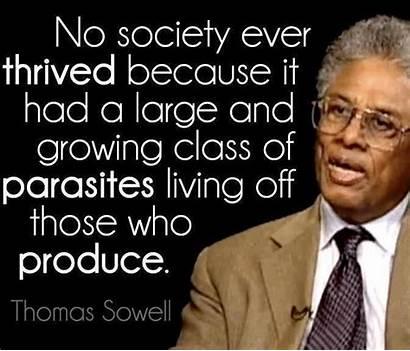 Sowell Thomas Quote Socialism Dr Parasite Parasites
