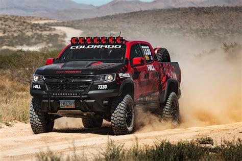 prerunner race truck chevy colorado zr2 is going desert racing for the first