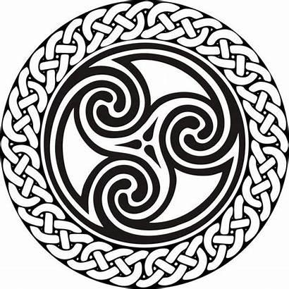 Celtic Triskelion Stencil Spiral Triskele Symbol Symbols