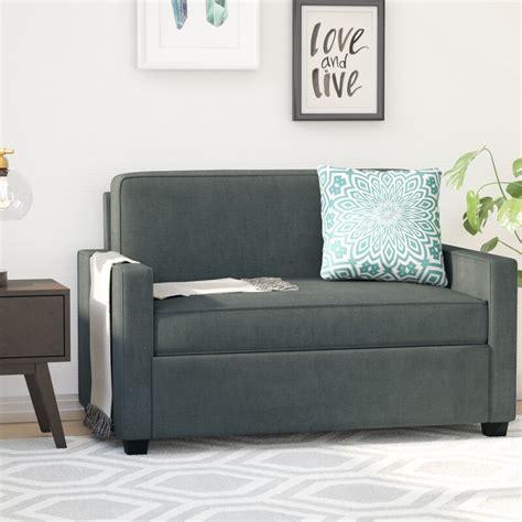 mercury row cabell twin sleeper sofa reviews wayfair