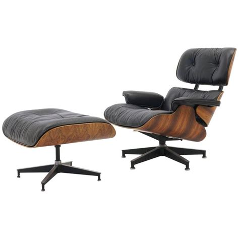 excellent original rosewood eames lounge chair