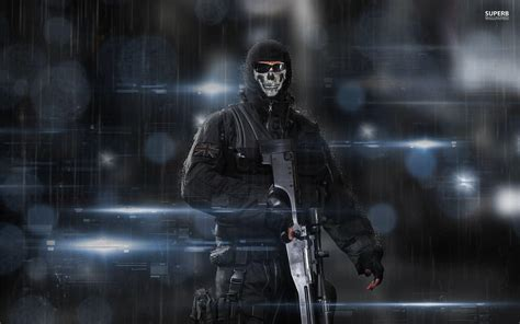 Call Of Duty Warzone Ghost Wallpapers Wallpaper Cave