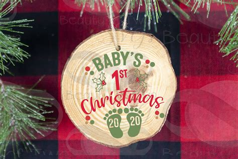 2020 Christmas Ornament Svg  – 210+ DXF Include
