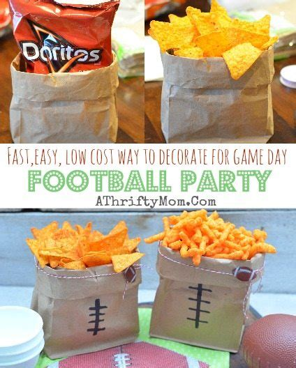 football super bowl party fast easy  cost ways