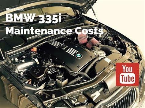 bmw   maintenance costs youtube