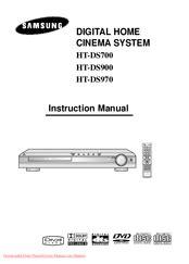 Samsung HT DS700 Manuals ManualsLib