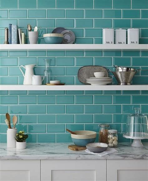 turquoise kitchen tiles azulejos de metr 244 s 227 o os novos queridinhos da decora 231 227 o 2970