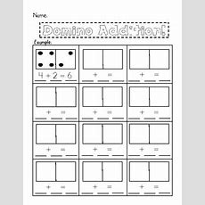 Domino Addition {worksheet} By The First Grade Diaries Tpt