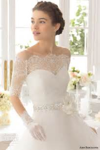 beautiful lace wedding dresses aire barcelona 2015 strapless wedding dresses wedding inspirasi