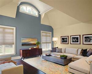 paint color ideas for living room with gray and cream wall With living room paint color ideas