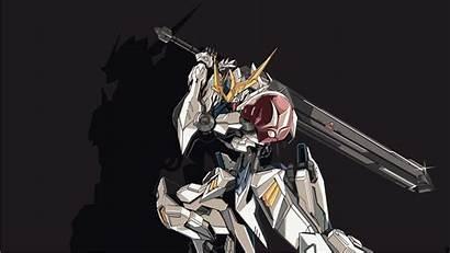 Gundam Barbatos Orphans Blooded Iron Mobile Suit