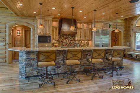 rustic  story rustic house plans  loft log home  golden eagle log homes golden