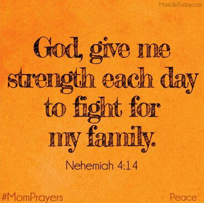 Family Gives Me Strength Quotes