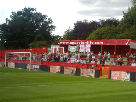 Spartans Supporters Turn Out in Droves at Alfreton Town ...