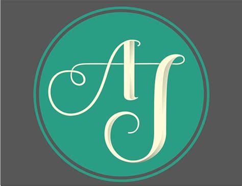 aj monogram  behance