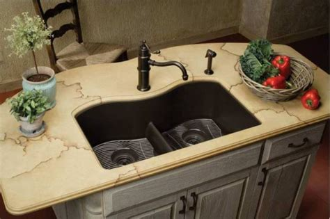 kitchen sink materials compared 9 best kitchen sink materials you will