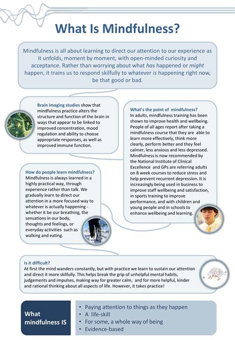 easy mindfulness worksheets goodsnyc