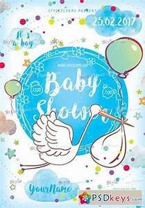Bookmark Template Download Baby Shower Psd Flyer Template Free Download Photoshop