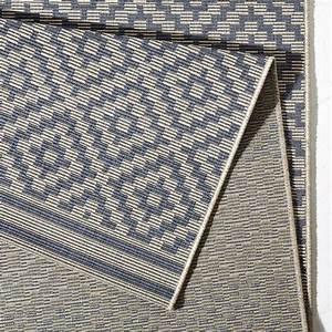 Bougari Outdoor Teppich : in outdoor teppich terrasse 160 x 230 cm raute blau ~ Watch28wear.com Haus und Dekorationen