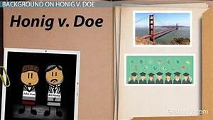 Resume Spanish Teacher Honig V Doe Summary Significance Video Lesson