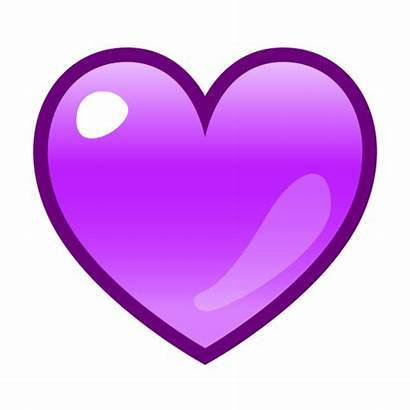 Emoji Purple Heart Transparent Emojis Background Clipart