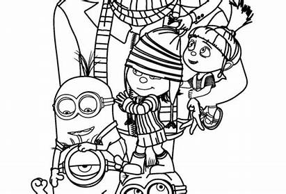 Coloring Despicable Duper