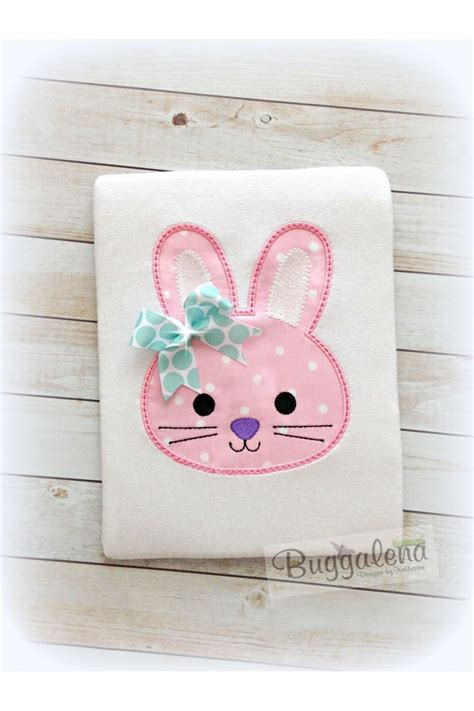 Embroidery And Applique Designs by Bunny Applique Design