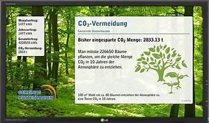 Co2 Einsparung Berechnen : b rgersolarvereine gem organisationen solarfox solar display system ~ Themetempest.com Abrechnung