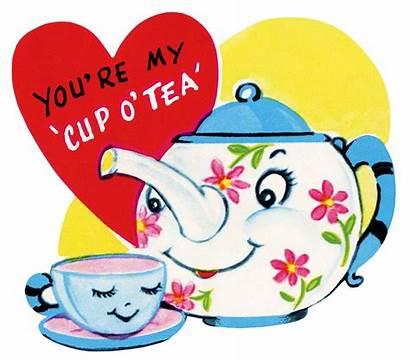 Valentine Cards Tea Teapot Clip Clipart Domain