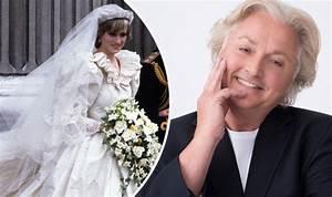 Princess Diana's wedding dress designer RIPPED UP sketch ...