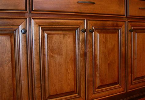 refinish stained wood cabinets project