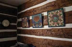 log home interior walls green retreats