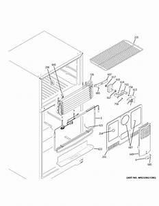General Electric Wr60x28783 Evaporator Fan Motor