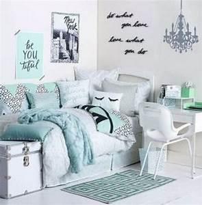 25 best ideas about cute dorm rooms on pinterest for Suspension chambre enfant avec housse de couette leopard 240x260